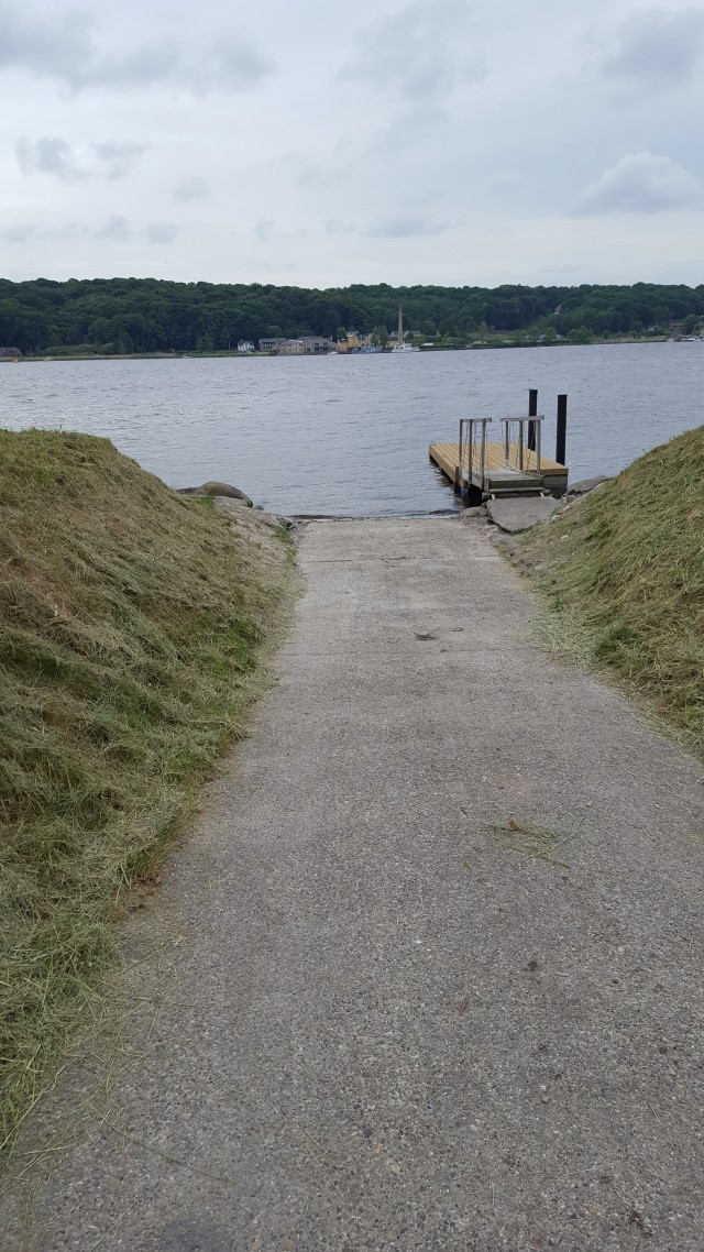 Slipway at Hobro Sailing Club
